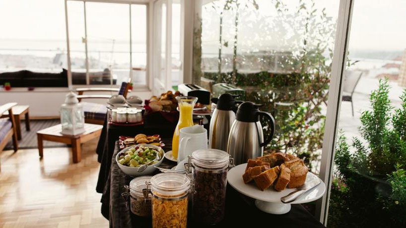 The House Boutique B&B breakfast
