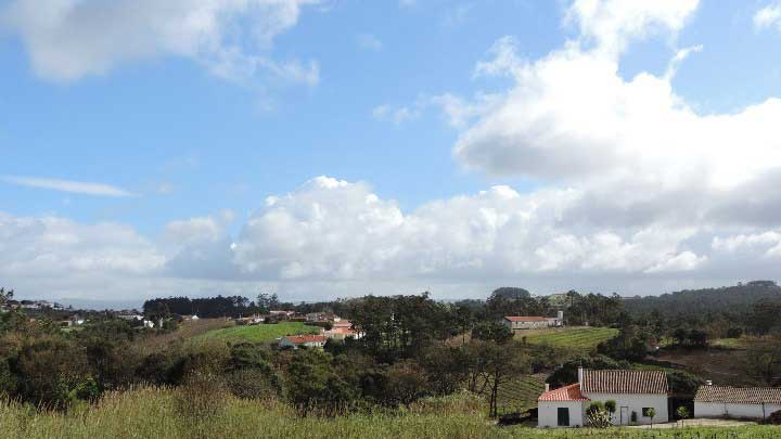 The view from the living of Limão Vista